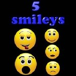 5 Smileys - 1 player