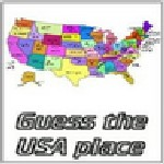Guess the USA Place - 1 player