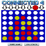 Connected 4 - 1 player