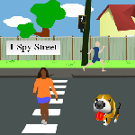 I Spy         Streets - 1-2 players